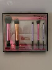 REAL TECHNIQUES Limited Edition Deluxe Holiday Brush Set Valentines Gift BNIB