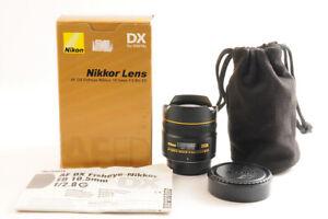 【 Quasi Mint + IN Scatola 】 Nikon Af Dx Fisheye Nikkor 10.5mm F/2.8g Ed Lente Da