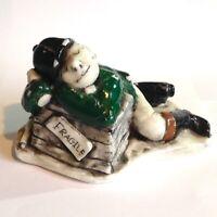 RARE VINTAGE Fragile Drunk Jockey Obscene Art Candle Unused