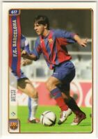In The Middle Of A Value Explosion Lionel Messi 2004 Mundi Cromo Liga Rc Rookie