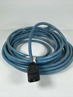Vintage Electrolux Vacuum Cleaner Power Cord 3616 Blue Cleaning Replacement