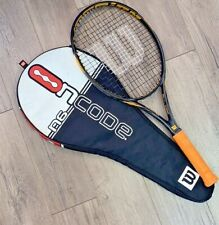 Wilson NCode Hyperion 8 Power System 4-3/8 Tennis Racquet w/Racket Cover/Carrier