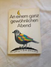 Taschenbuch,An einem ganz gewöhnlichen Abend,Renate Holland-Moritz,1974