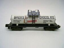 Custom American Flyer Bakers Chocolate Tank Car [Lot 11-F26]