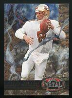 STEVE YOUNG 1997 Skybox Metal Universe #27 San Francisco 49ers HOF