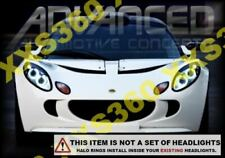 ORACLE for Lotus Elise 04-08 WHITE LED Headlight Halo Angel Demon Eyes Rings Kit