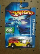 """Lot of 2 Hot Wheels 2007 All Stars """"Old Number 5.5""""  Red & Yellow  MOC"""
