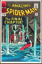 Amazing Spider Man #33 poster art print '92  Steve Ditko Doctor Octopus