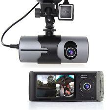 "2.7"" TFT LCD HD Dash-Cam DualCam Car DVR w/ GPS Tracker + Google Maps + G-Sensor"