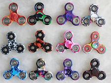 Wholesale Lot 10x Fidget Hand Tri Spinner Camouflage Camo Color Finger Toy Kids