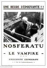 Nosferatu French poster 1922