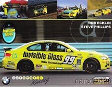2013 Automatic Racing #99 M3 Coupe GS CTSC postcard