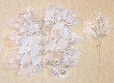 ( One Dozen - 12 ) Bride - Bridal - Calla Lily Wired White Strip - Floral Decor