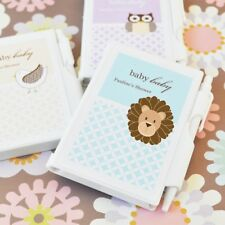 36 Personalized Baby Animal Notebooks Shower Favors