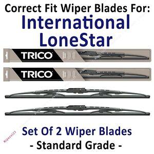 Wiper Blades 2-Pack Standard - fit 2009+ International LoneStar - 30221x2
