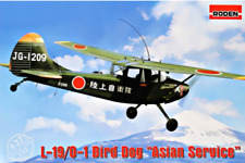 Roden 627 L-19/O-1 Bird Dog Asian service US 1/32 scale airplane plastic model
