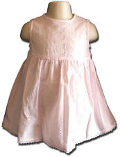 Adorable Dymples Size 0 Baby Pink Broderie Anglais Summer Dress