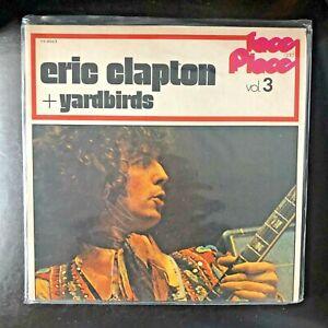 Eric Clapton & Yardbirds - Faces & Places Vol 3 LP Japanese Pressing No OBI HTF