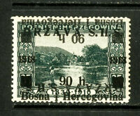 Yugoslavia Stamps inverted ovpt VF OG LH Normal Ovpt