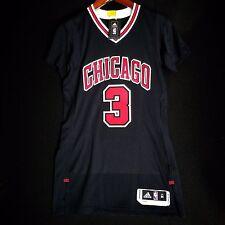 100% Authentic Dwyane Wade Bulls Rev 30 Black Jersey Size M 40 - butler jordan