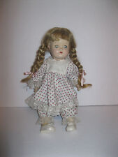 """VTG 16"""" Reliable Canada Composition Doll Pigtails Sleepy Eyes Clothes & Shoes"""