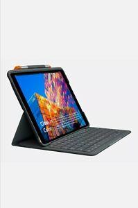 Logitech Slim Folio für iPad (7th & 8th Generation), layout QWERTZ