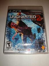 BRAND NEW Uncharted 2: Among Thieves (Sony PlayStation 3, 2009) 1st BLACK LABEL