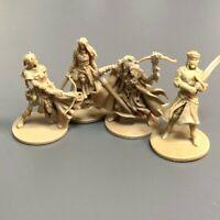 4x Mini Figurine For D&D Miniatures donjons et dragons dungeons & dragons