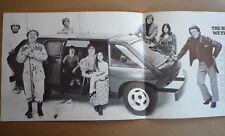1972 BRUBAKER BOX VAN BROCHURE - THE FIRST MPV MINIVAN (TYPE 1 VW)