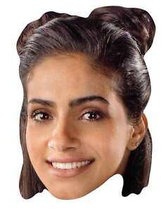 Yasmin Khan De 13th Doctor Who Officiel Simple 2D Carte Fête Masque Visage