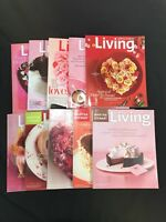 Martha Stewart Living Magazine LOT of 10 February 2000 2001 2002 2003 2006 2007