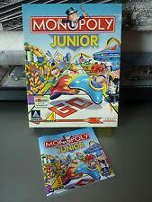 Original Verpackung und Anleitung Monopoly Junior von HASBRO