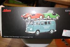 """Schuco VW T1 Bus """"Kleinschnittger"""" mit 2x F125 Nr. 450027800"""