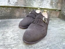 CHURCH VINTAGE  LOAFERS – BROWN SUEDE  – UK 8.5 – STAFFORD – EXCELLENT CONDITION