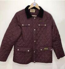 Vintage Barbour Women's Quilt Jacket Coat Size Medium UK 12/14