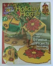 Annie'S Attic Holiday Home Crochet 'N' Weave Book