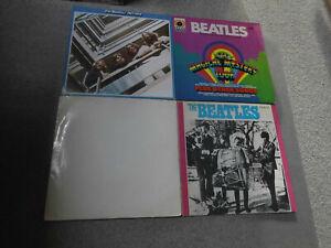 Konvolut von 6 LP`s Rock (The Beatles) siehe Foto