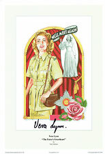 Vera LYNN SIGNED Autograph 12x8 Photo AFTAL COA The Forces Sweetheart