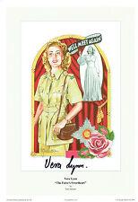 Vera LYNN SIGNED Autograph 12x8 Photo AFTAL COA The Forces Sweetheart