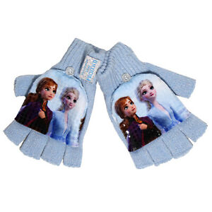 Official Licensed Girls Disney Frozen Combo Gloves Age 4-8 Year 2 in 1