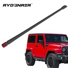FM//AM Reception Enhanced DROGO 5.25 Lightsaber Replacement Antenna for Jeep JK Wrangler 2007-2017 Tough Material Creative Design Red
