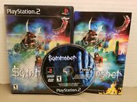 Summoner  (Sony PlayStation 2, 2002) CIB tested