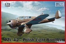 PZL 42 polonais Dive Bomber #509 1/72 IBG (Twin Tail Karas) de nouveaux outils