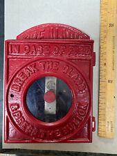 Vintage Fire Alarm Box