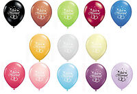 "20 JUST MARRIED 12"" HELIUM QUALITY PEARLISED WEDDING BALLOONS 13 AMAZING COLOURS"