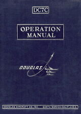 DOUGLAS DC-7C - OPERATION MANUAL - 1954