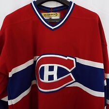 Montreal Canadians KOHO Men's L Red Sewn On Hockey Jersey Made Canada