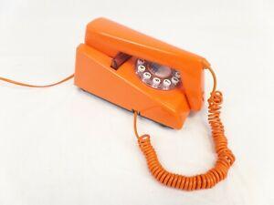 Vintage TrimPhone Orange RETRO Corded Telephone