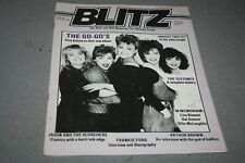 BLITZ THE R´n´ROLL MAG FOR THINKING PEOPLE# 50 -  THE GO-GO´ S COVER (1984)