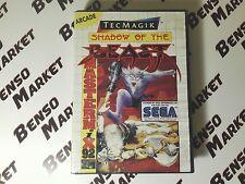 SHADOW OF THE BEAST - SEGA MASTER SYSTEM 8 BIT PAL EU ITA ITALIANO BOXATO BOXED
